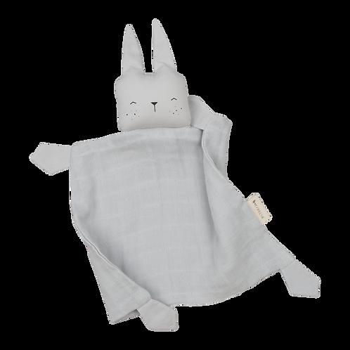 Doudou plat en tétra - Cute Bunny - Fabelab