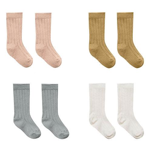 Pack de 4 paires de chaussettes en coton bio - Quincy Mae