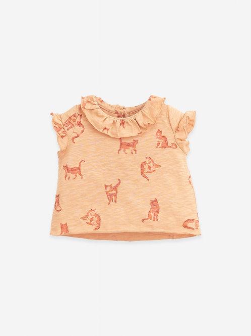 T-shirt imprimé chats - Play Up