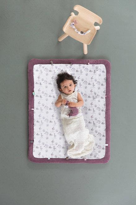Sac de couchage 'petits pois' sans manches - Snooze Baby