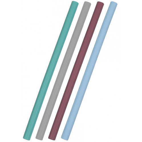 Set de 4 pailles en silicone - Minikoioi
