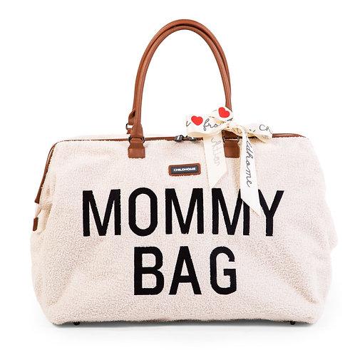 Mommy Bag Sac A Langer - Teddy Ecru - Childhome