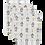 """Thumbnail: Set de 3 gants de toilette en Tetra aux motifs """"pingouins"""""""