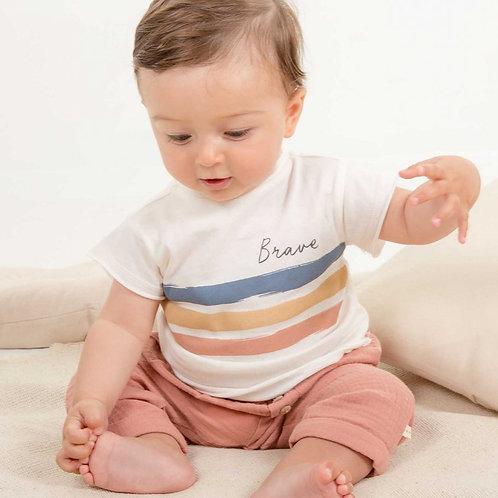 T-Shirt en jersey MAE blanc Brave - Les Petites Choses