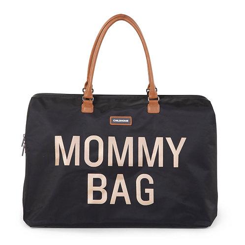 Mommy Bag Sac A Langer -  Noir black/gold - Childhome