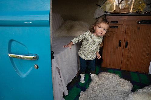 Legging confort bleu - Riffle Amsterdam