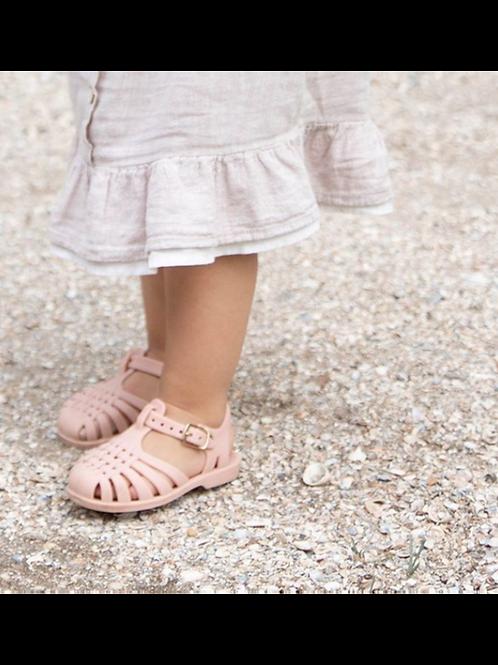 Sandales d'eau souples rose - Little Indians