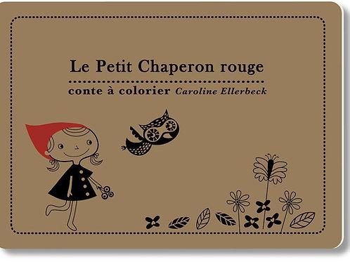 """Conte à colorier """"Le Petit Chaperon Rouge"""""""