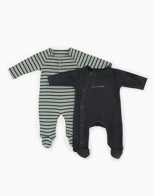 Ensemble de 2 pyjamas en coton bio - Play Up
