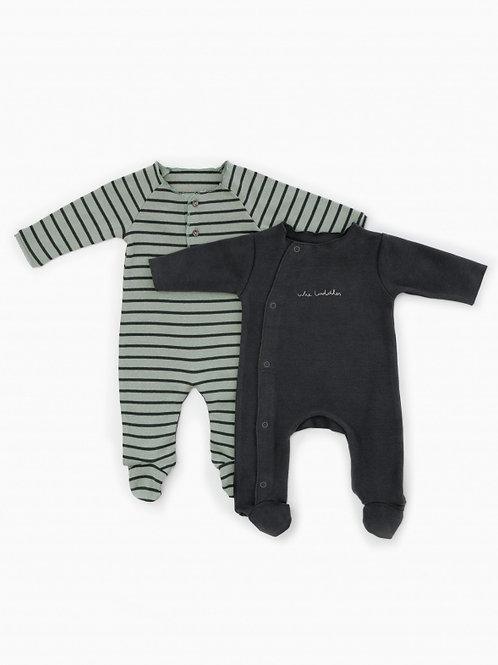 Ensemble de 2 pyjamas en coton bio - Play Up