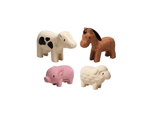 Mes animaux de la ferme - Plan Toys