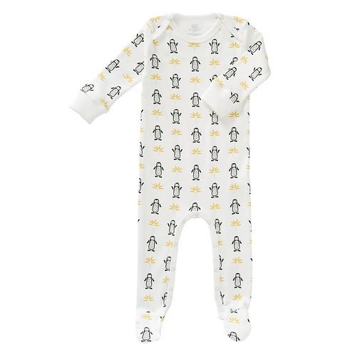 Pyjama bébé (avec pieds) aux motifs pingouins - FRESK