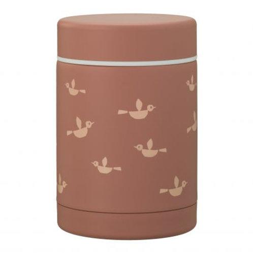 Pot alimentaire thermique 300ml Birds - Fresk