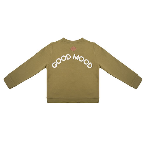 Veste style baseball 'Good Mood' - Little Indians