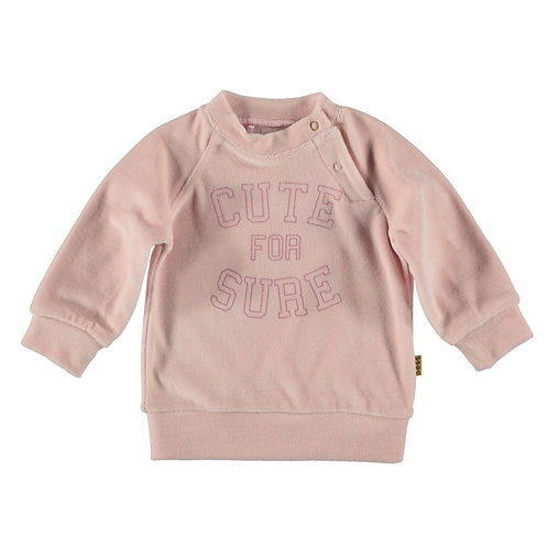"Sweat en velours ""Cute for sure"" - BESS"
