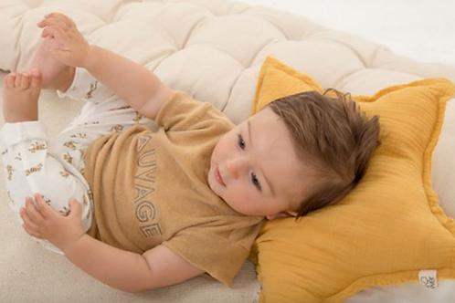 T-Shirt en éponge Sauvage Gold - Les Petites Choses