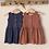 Thumbnail: Robe en éponge Romane Cannelle - Les Petites Choses