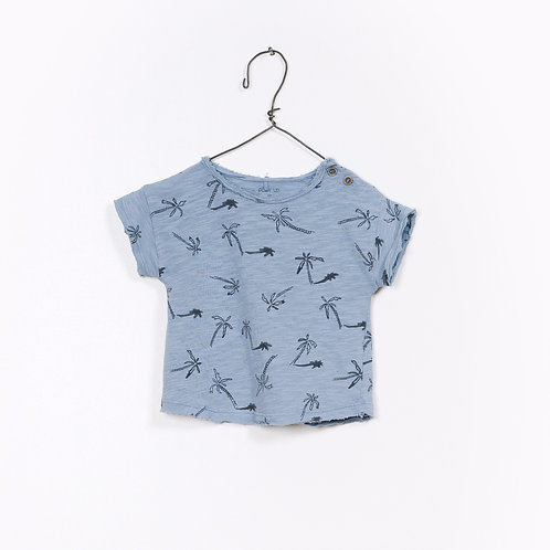 T-shirt imprimé 100% coton organique - Play Up