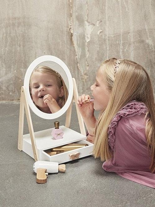 Miroir de table avec tiroir - Minikane