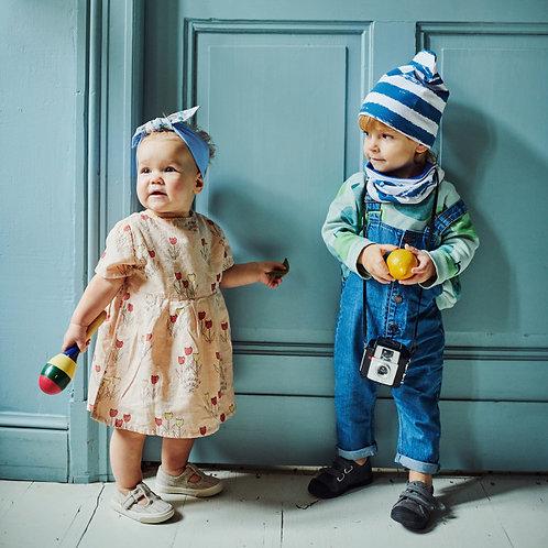 Set bonnet rayé + Snood - UL&Ka