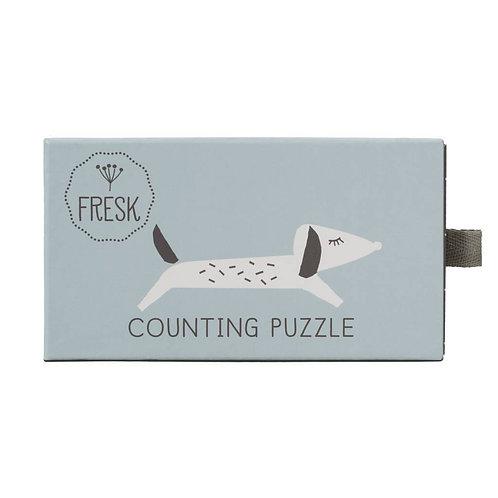 Puzzle pour apprendre à compter - Fresk