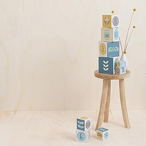 Set de cubes à empiler - FRESK