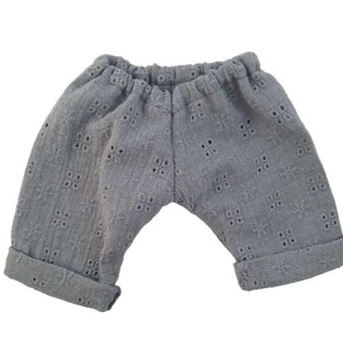 "Pantalon ""A l'anglaise"" pour poupon PaolaReina"