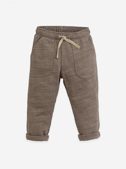 Pantalon en Jersey de coton avec corde en lin - Play Up