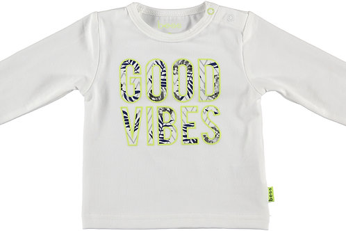 """T-shirt longues manches """"Good Vibes"""" BESS"""