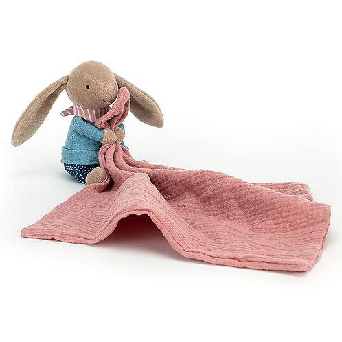 Doudou lange lapin habillé 30cm - Jelly Cat