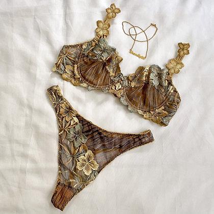 Clémence ❘ French luxury lingerie set