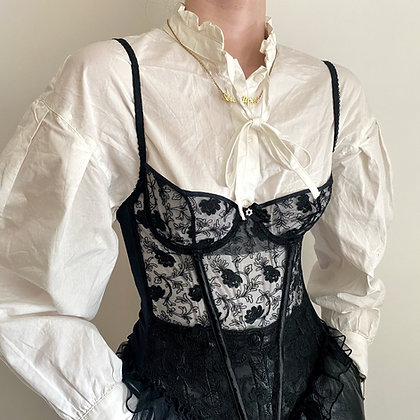RARE ❘ Arlette ❘ French luxury bustier