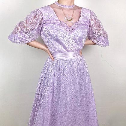 Mesmerizing lavender prairie dress