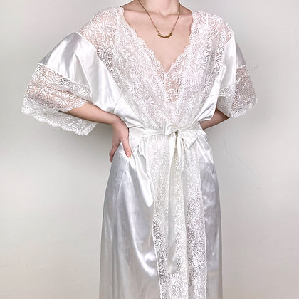 Enchanted gown & negligee set