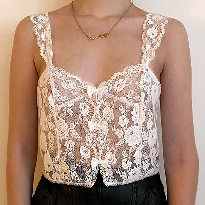 Réglisse ❘ French luxury camisole