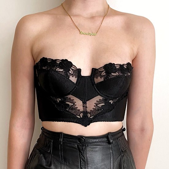RARE ❘ Belladone ❘ French luxury bustier