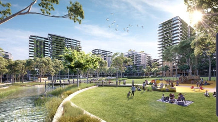 Melrose Park - The New Heart of Sydney