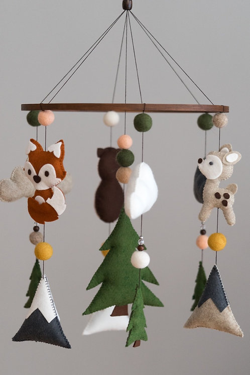 WOODLAND | BOHO ANIMALS | MOBILE