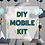 Thumbnail: DIY WOODLAND MOBILE KIT | TEAL MINT MUSTARD