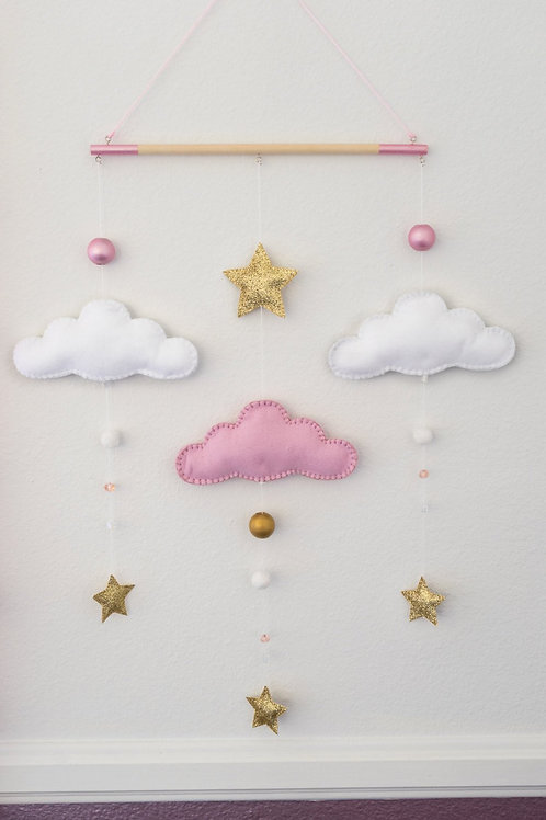 PINK | GOLD | WALL MOBILE