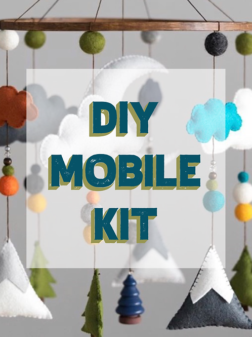 DIY WOODLAND MOBILE KIT | TRIBAL