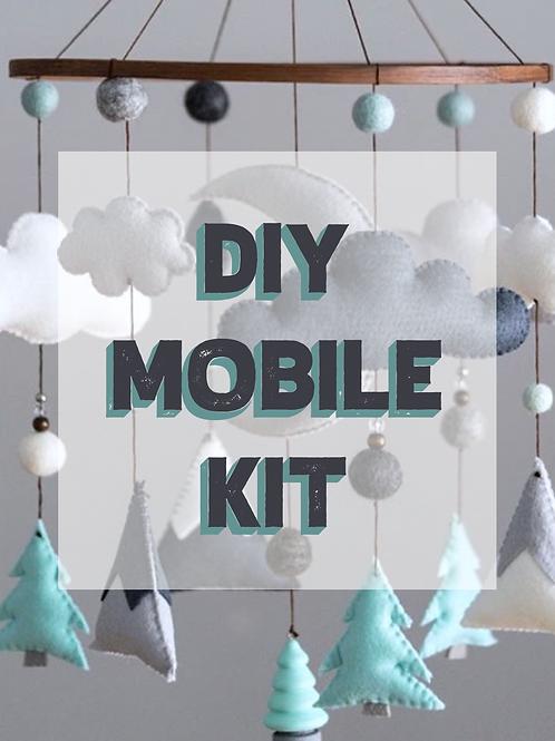 DIY WOODLAND MOBILE KIT | MINT