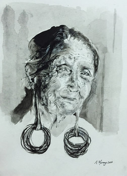 She Used to Wear Brass Earrings (2014).j