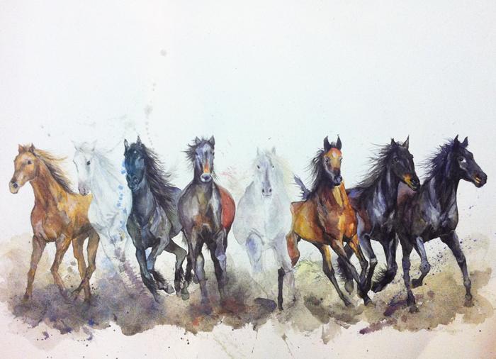 Eight Horses Running (2014).jpg