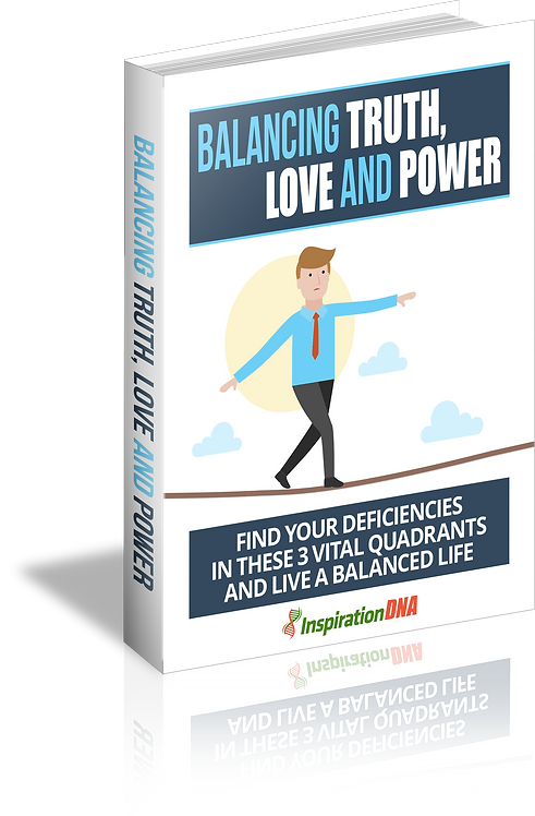 Balancing Truth Love And Power