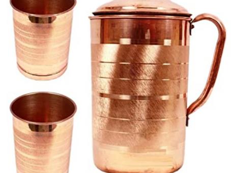 तांब्या मधून पाणी पिणे सुरक्षित आहे ? -Is it Safe to water Drink from Copper?