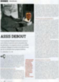 """Article de presse du journal """"L'esprit du Judo"""" du mois de Mars 2020 article de Anthony Diao"""