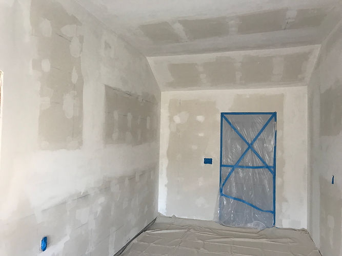 Drywall finishing and texture match