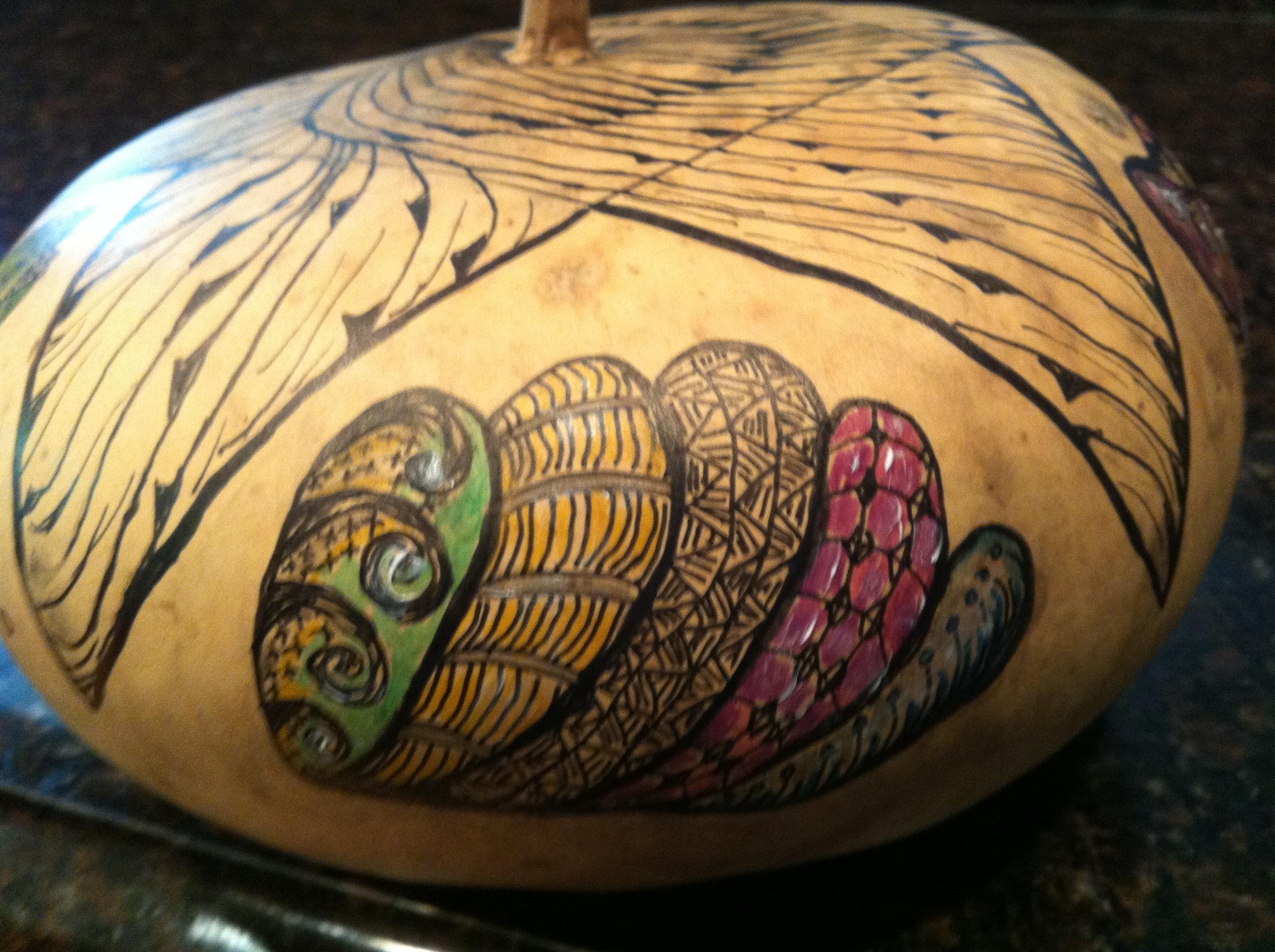 Ocean Theme Zen Bowl