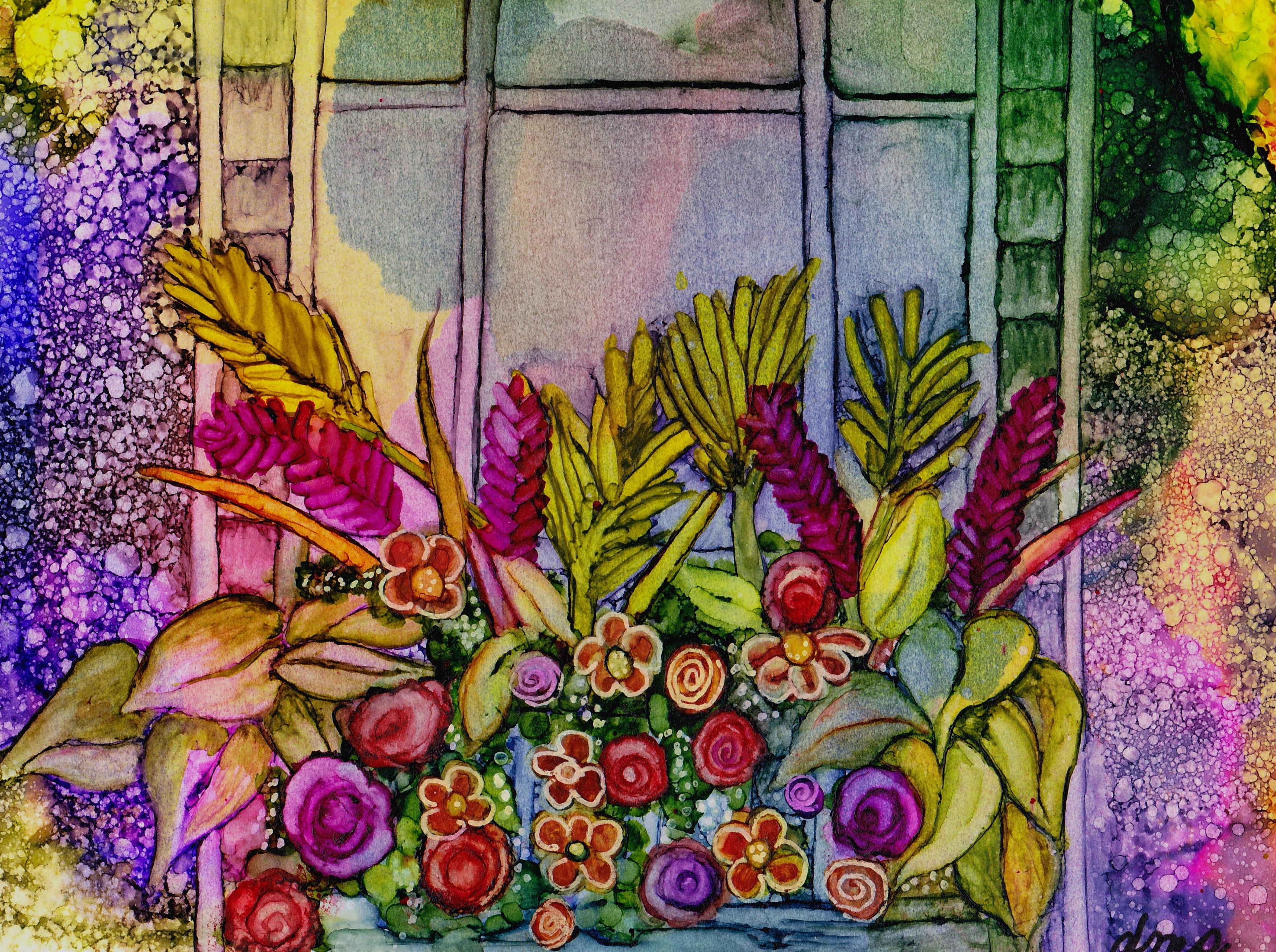 Diane's Garden Window